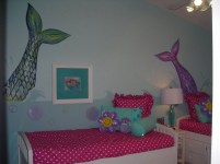 36+ Sweet Mermaid Themes Bedroom Ideas For Your Children (6)
