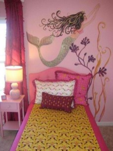 36+ Sweet Mermaid Themes Bedroom Ideas For Your Children (7)