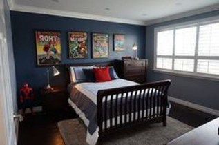 44+ Cool Superhero Theme Ideas For Boy's Bedroom (21)