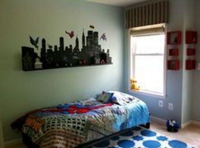 44+ Cool Superhero Theme Ideas For Boy's Bedroom (31)