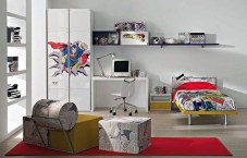 44+ Cool Superhero Theme Ideas For Boy's Bedroom (33)