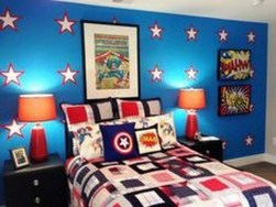 44+ Cool Superhero Theme Ideas For Boy's Bedroom (6)