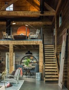 45+ Amazing Interior Design Ideas With Farmhouse Style (16)