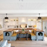 45+ Amazing Interior Design Ideas With Farmhouse Style (3)