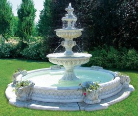 46+ Beauty Outdoor Water Fountains Ideas Best For Garden Landscaping (24)