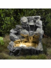 46+ Beauty Outdoor Water Fountains Ideas Best For Garden Landscaping (42)