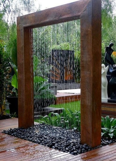 46+ Beauty Outdoor Water Fountains Ideas Best For Garden Landscaping (48)