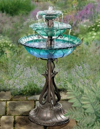 46+ Beauty Outdoor Water Fountains Ideas Best For Garden Landscaping (7)