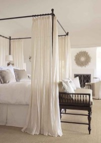 64+ SIMPLE AND EASY DIY BEDROOM CANOPY IDEAS ON A BUDGET 05