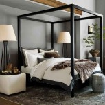 64+ SIMPLE AND EASY DIY BEDROOM CANOPY IDEAS ON A BUDGET 12