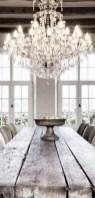 75+ Stuning Farmhouse Dining Room Decor Ideas 41