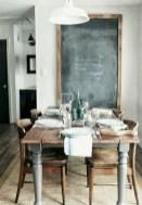 75+ Stuning Farmhouse Dining Room Decor Ideas 68