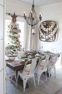 75+ Stuning Farmhouse Dining Room Decor Ideas 72