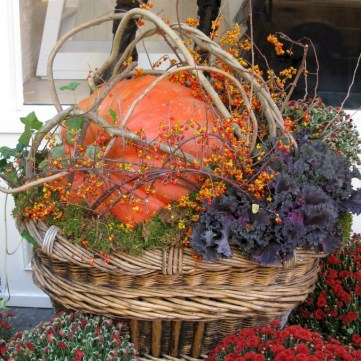 88+ Amazing Fall Container Gardening Ideas (27)