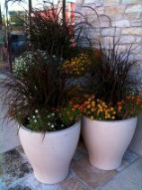 88+ Amazing Fall Container Gardening Ideas (5)