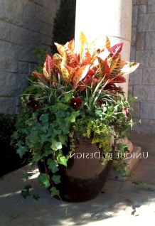 88+ Amazing Fall Container Gardening Ideas (50)