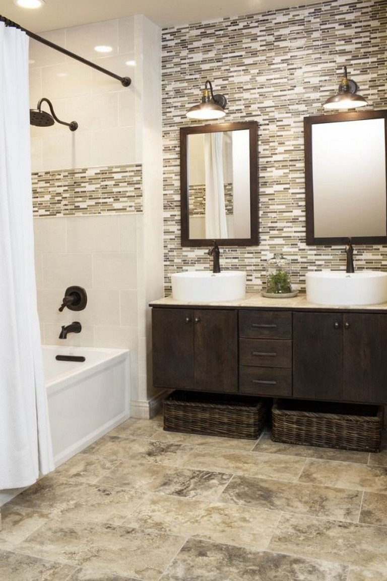 23 Amazing Purple Bathroom Ideas Photos Inspirations: 25-Gorgeous-Brown-Bathroom-Ideas-12
