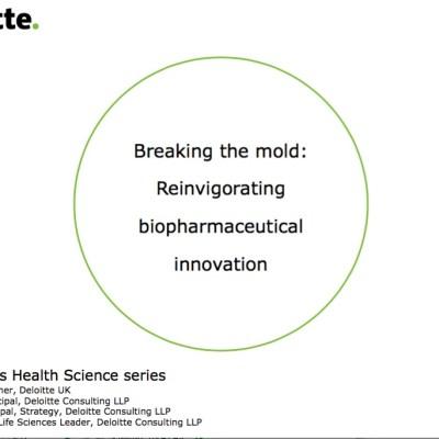 Deloitte - Invigorating Biopharma Innovation
