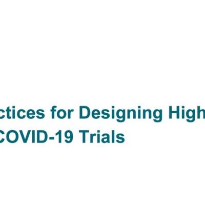 CTTI Diverse COVID Trials