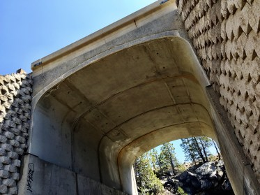 Adbandoned Railroad Tunnel Donner Summit Entrance