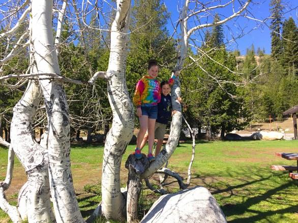 Natalie And Carter At Serene Lakes