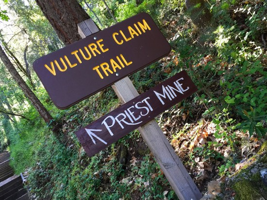 Vulture Claim Trail to Priest Mine