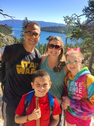 Family Hike Eagle Falls Lake Tahoe