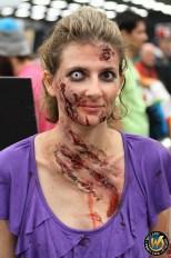Sacramento Comic Con Makeup