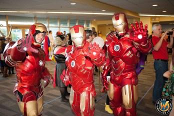 Comic Con Superhero Costumes at Wizard World Sacramento