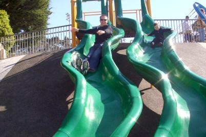 Family Vacation to Monterey Playground