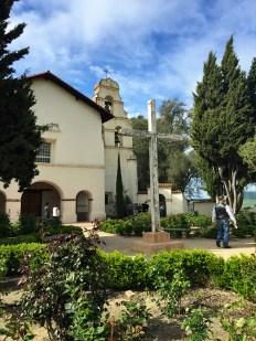 Visiting Mission San Juan Bautista