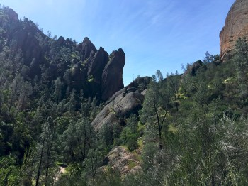Pinnacles Views Above Balconies Cave