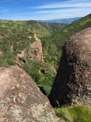 Rim Trail View Of Pinnacles National Park