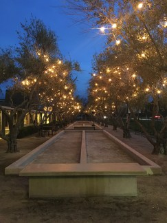 The Grove Hollister Bocce Ball COurts