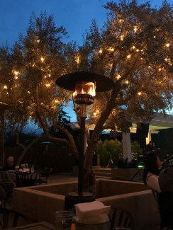 The Grove Restaurant Twinkle Lights and Heaters
