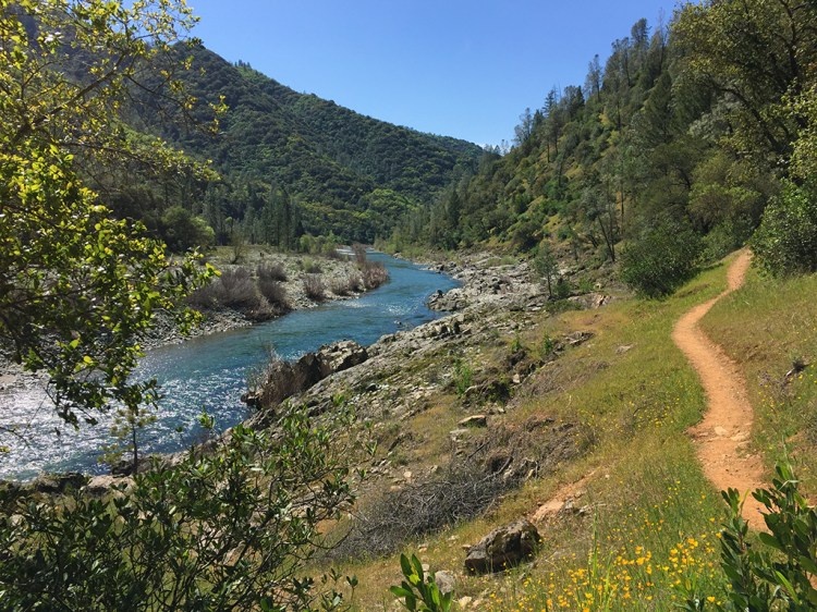 Codfish Creek Trail and The American River North Fork