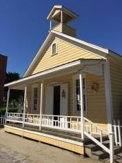 Visiting The Old Sacramento Schoolhouse