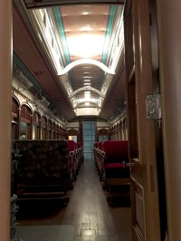 Passenger Train Car Interior