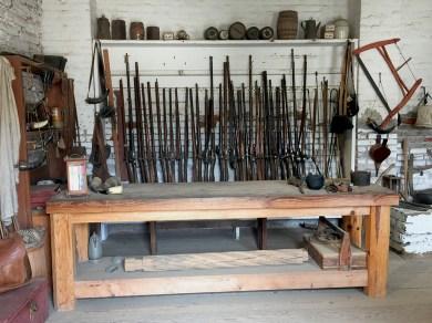 Ammunition Room At Sutter's Fort In Sacramento, California