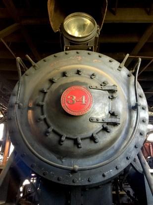 Baldwin Locomotive Works Engine 34