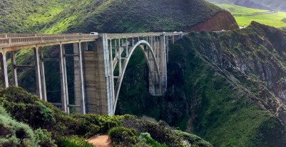 Bixby Creek Bridge A Concrete Open-Spandrel Arch Bridge