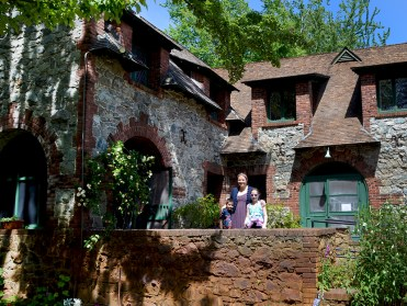 Bourn Cottage at Empire Mine State Historic Park in Grass Valley