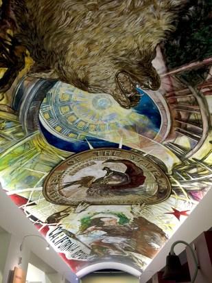 California Museum Ceiling Mural