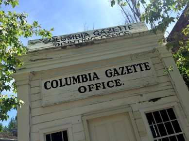 Columbia Gazette Office Historic Building