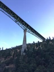 Foresthill Bridge At Twilight