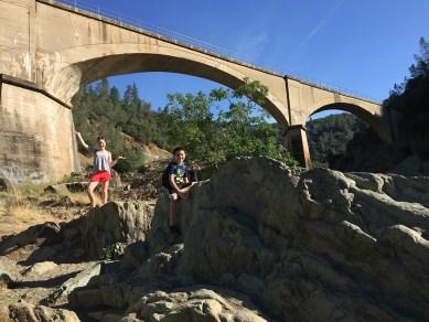 Hiking to Mountain Quarries Railroad Bridge