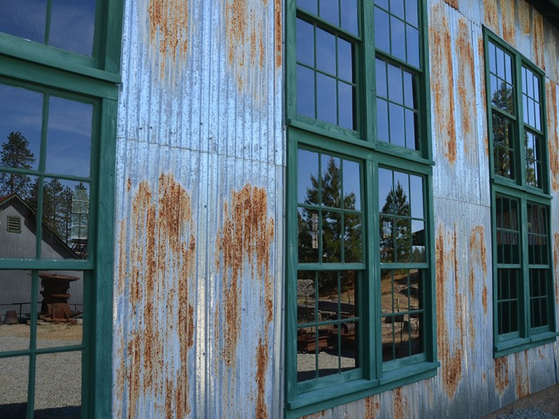 Historic Gold Mining Buildings