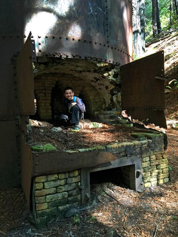 Old Lime Kilns in Limekin State Park