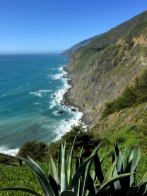 California's Pacific Coastline View From The Ragged Point Walking Trail