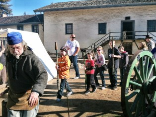 Sutter's Fort Living History Day For Families